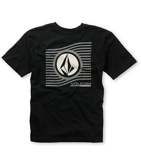 Volcom Boys Farline Black T-Shirt