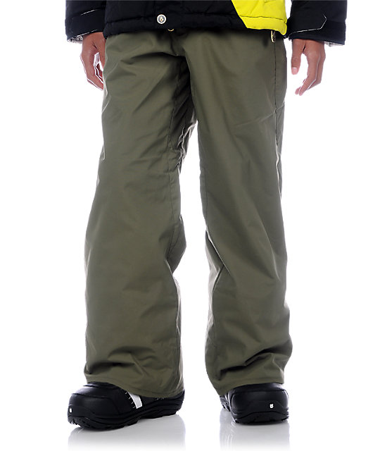 Volcom Boys Five Military Snowboard Pants