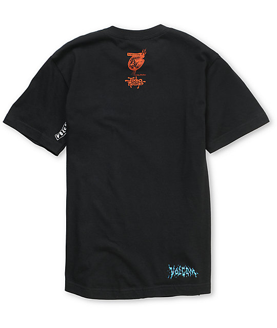 Volcom Boys Jimbo Phillips Black T-Shirt