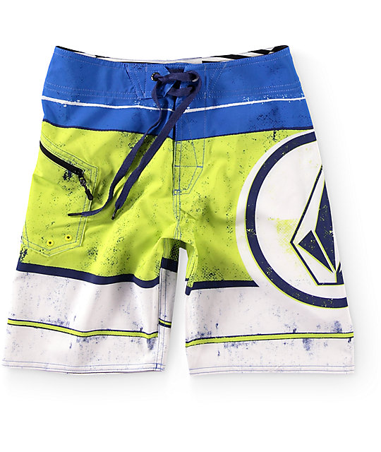 Volcom Boys Lido Ion Board Shorts