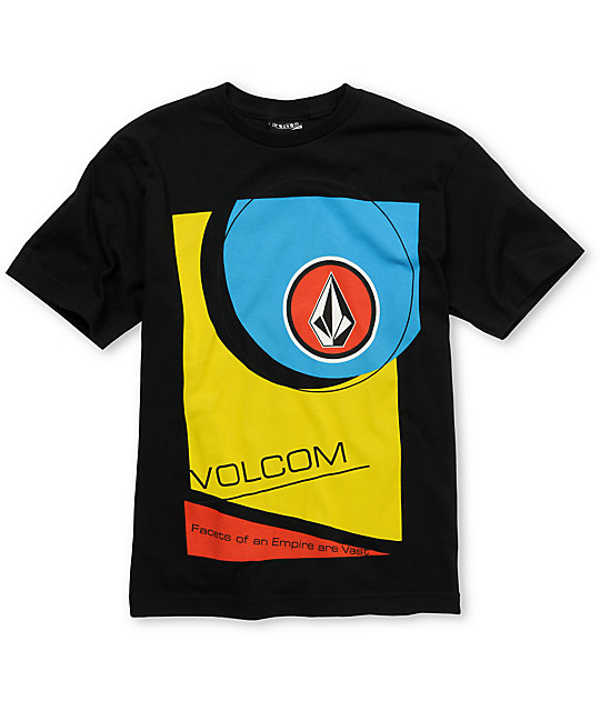Volcom Boys Marketing Black T-Shirt