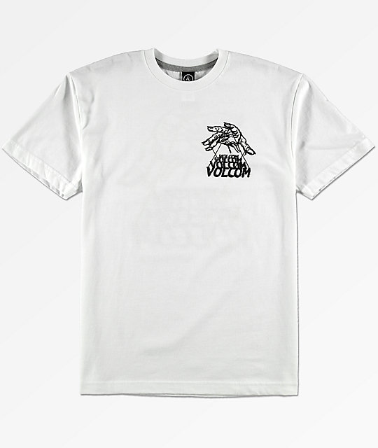 Volcom Boys Puppet White T-Shirt