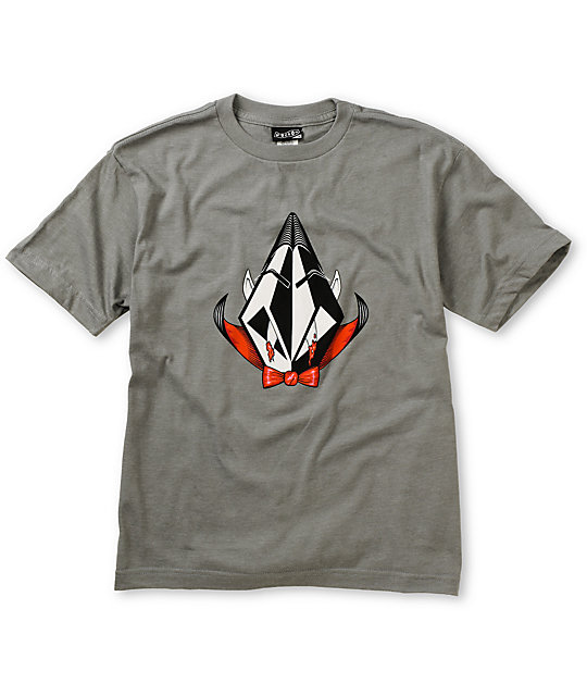 Volcom Boys Volcula Grey T-Shirt
