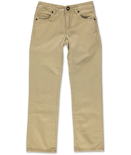 Volcom Boys Vorta Regular Fit Pants