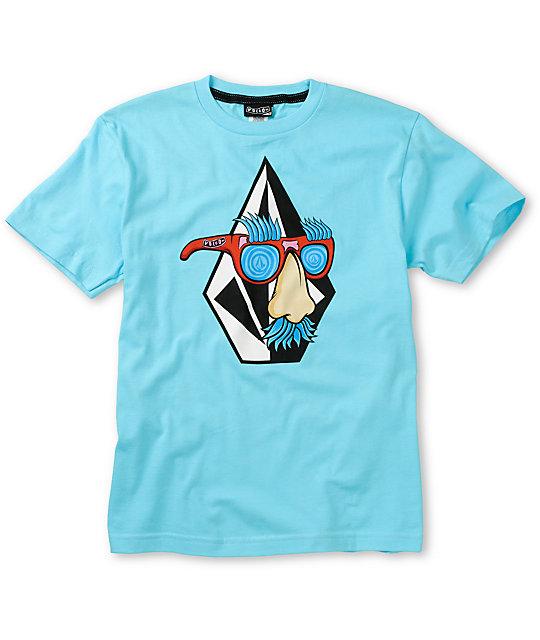 Volcom Boys Weirdo Blue T-Shirt