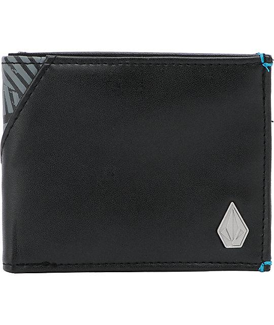 Volcom Break Up Black Bifold Wallet