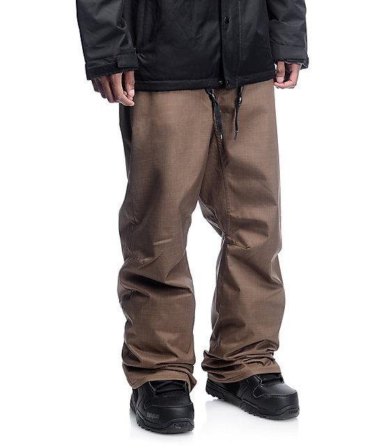 Volcom Carbon Teak 8K Snowboard Pants