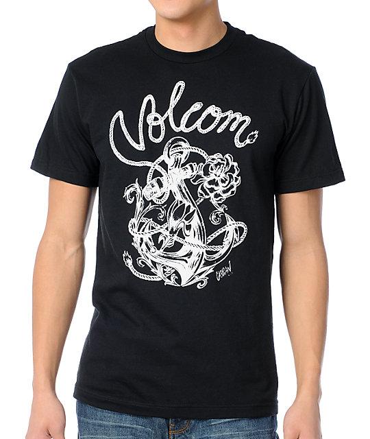 Volcom Caspian Black T-Shirt