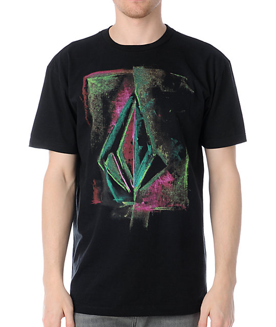 Volcom Chalk Black T-Shirt