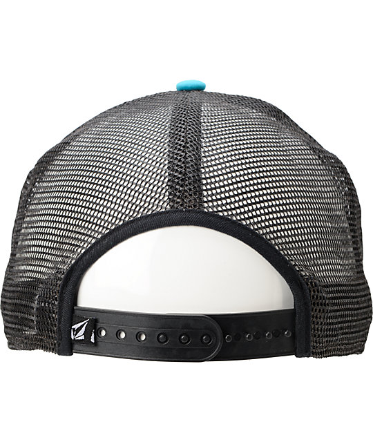 Volcom Circle Stone Teal Trucker Hat