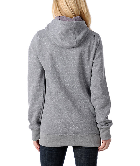 Volcom Club Novelty Tech Fleece Jacket