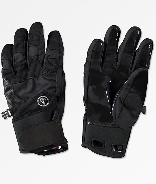 Volcom Crail Black Snowboard Gloves