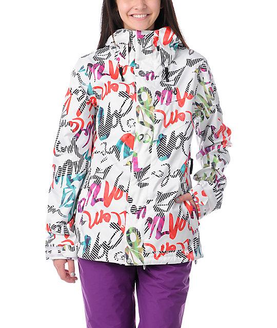 Volcom Cremini Script Stripe Snowboard Jacket