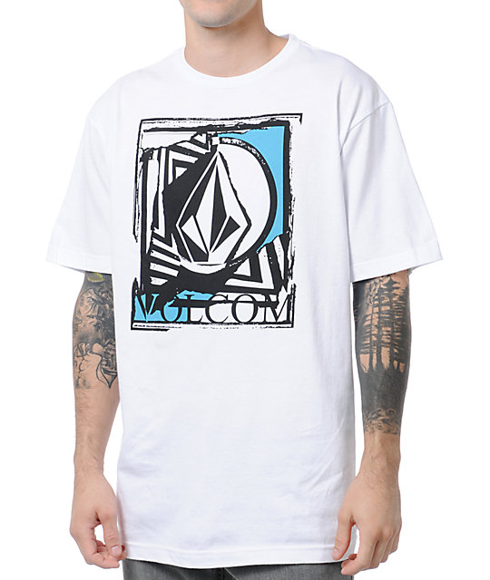 Volcom Cult Leader White T-Shirt