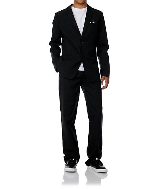 Volcom Dapper Stone Black Suit