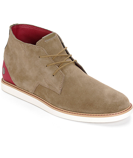 Volcom Del Mesa Chestnut Shoes