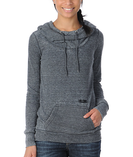 Volcom Dipped Hooded Thermal Shirt
