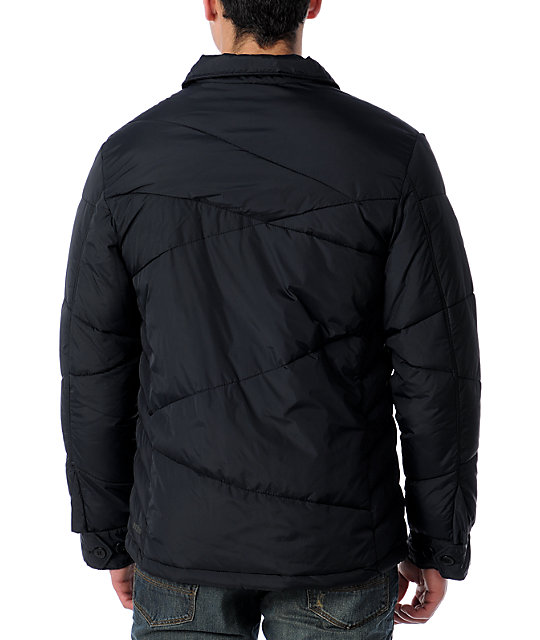 Volcom Django Black Puff Jacket