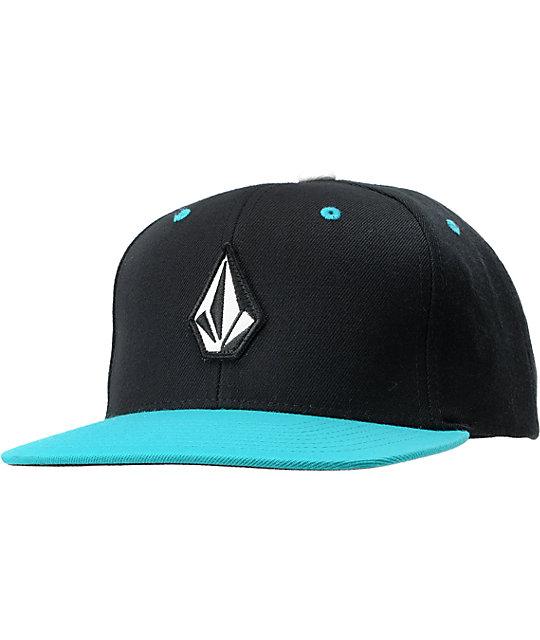 Volcom El Stone Teal Snapback Hat