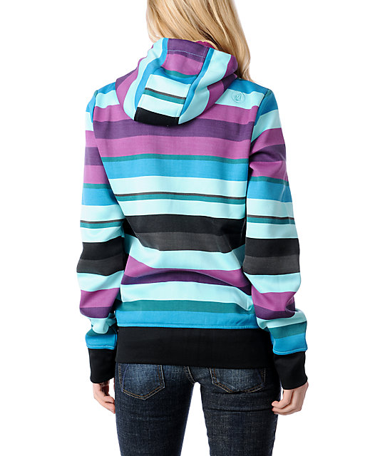 Volcom Enlighten Tech Fleece Stripe Jacket