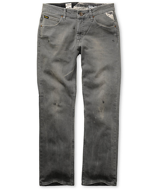 Volcom Enowen Ash Wash Relaxed Fit Jeans