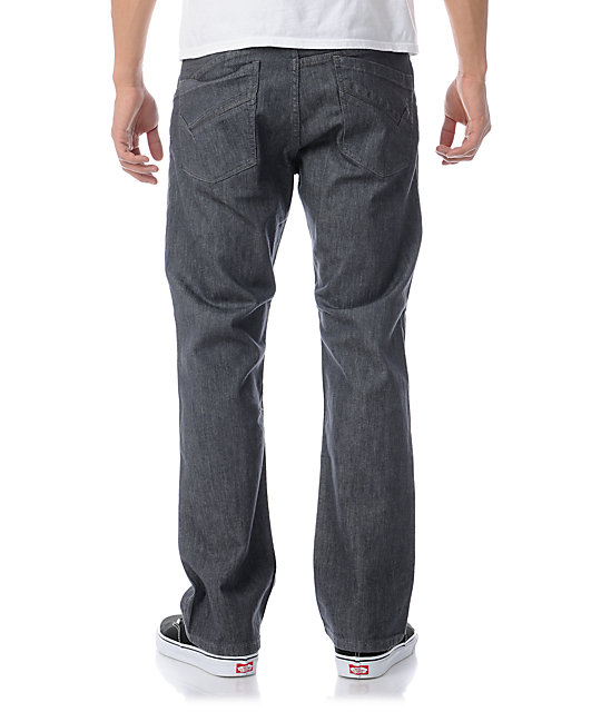 Volcom Enowen Dirty Black Relaxed Fit Jeans