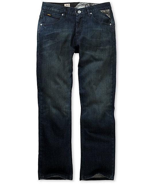 Volcom Enowen El Vintaj Wash Relaxed Fit Jeans