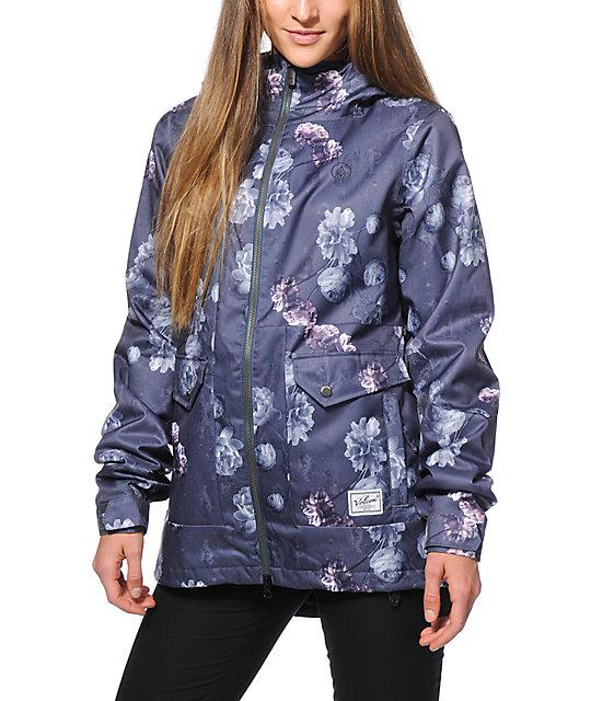 Volcom Era Floral 10K Snowboard Jacket