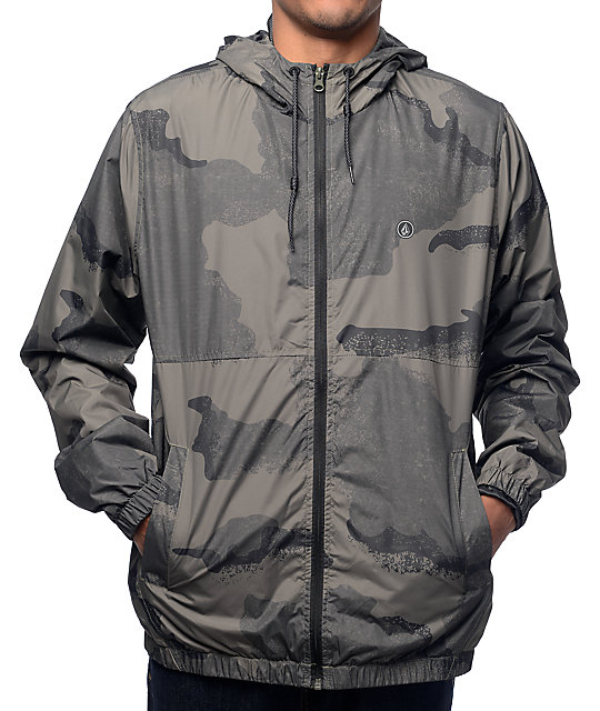 Volcom Ermont Camo Windbreaker Jacket