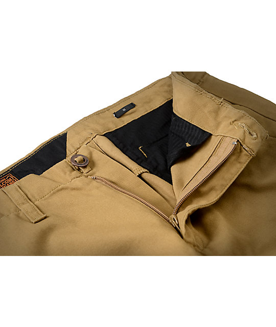 Volcom Faceted Bronze Chino Pants