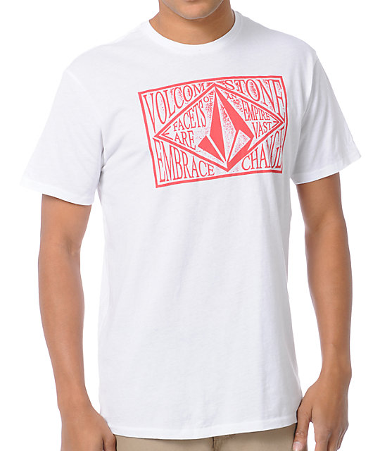 Volcom Farline White T-Shirt