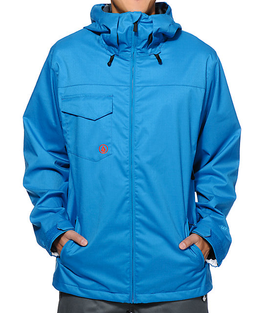 Volcom Forest Blue 8K Snowboard Jacket