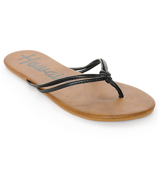 Volcom Forever 2 Hawaii Black Sandals