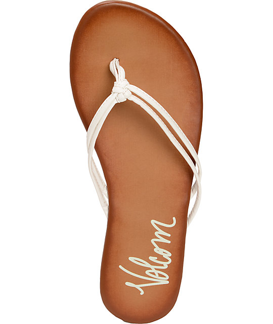 Volcom Forever White Creedler Sandals