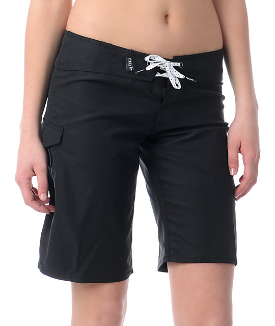 Volcom Foster Gals 10 Black Board Shorts