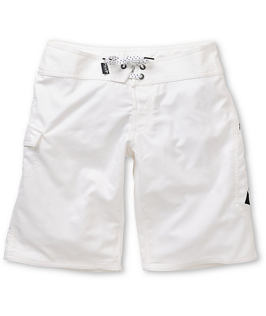 Volcom Foster Gals 11 White Board Shorts