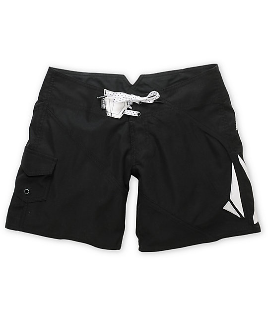 Volcom Foster Gals 7 Black Board Shorts