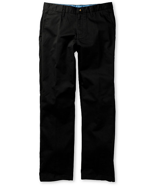 Volcom Frickin Black Chino Pants