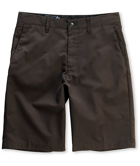 Volcom Frickin Brown Chino Shorts