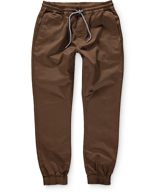 Volcom Frickin Brown Jogger Pants