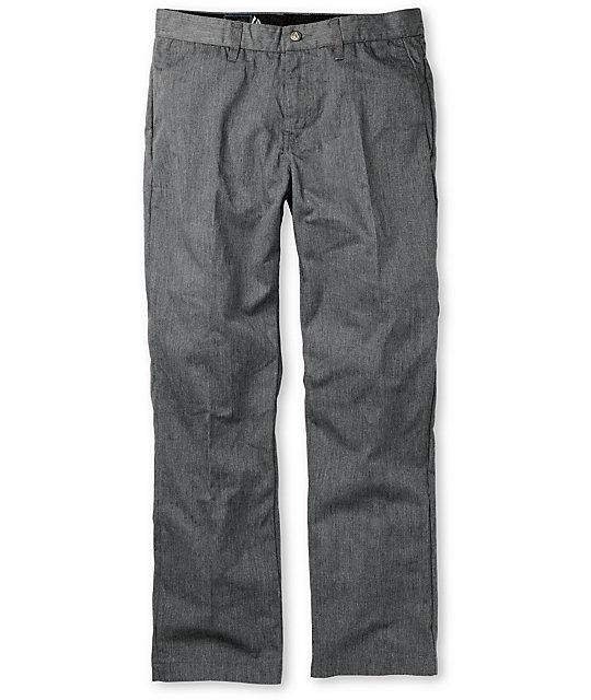 Volcom Frickin Charcoal Chino Pants