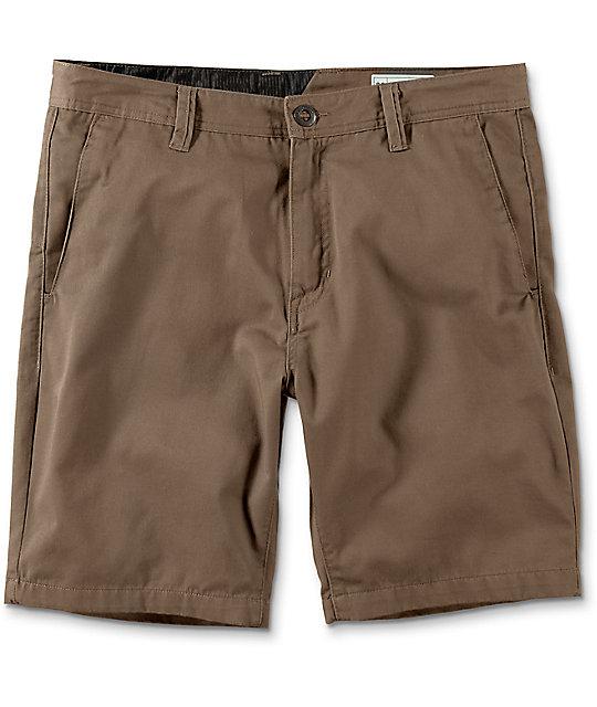 Volcom Frickin Drifter Mushroom Chino Shorts