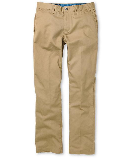 Volcom Frickin Khaki Chino Pants