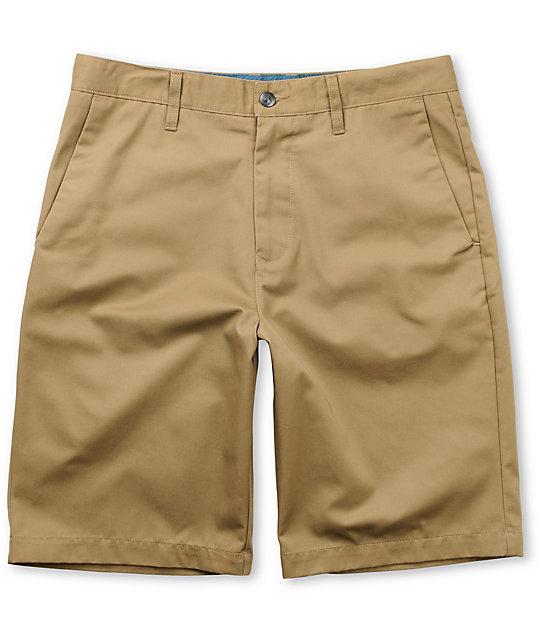 Volcom Frickin Khaki Chino Shorts