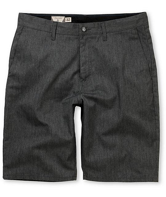 Volcom Frickin Modern Charcoal Chino Shorts