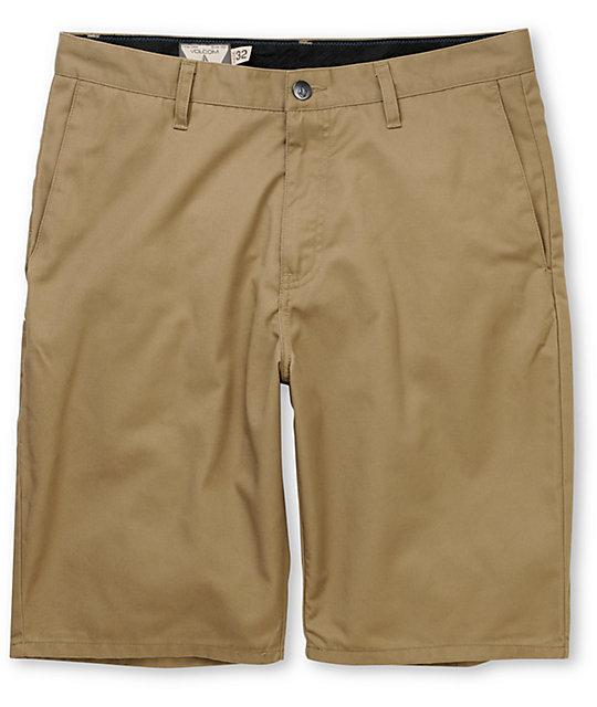 Frickin Modern Khaki Chino Shorts