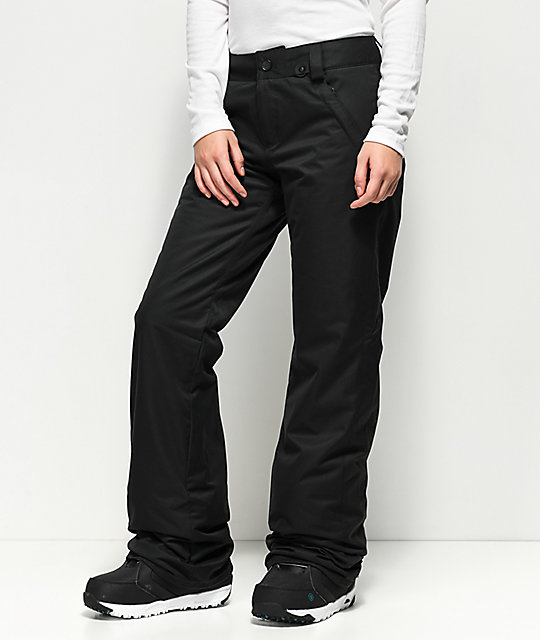 Volcom Frochickie Black 10K Snowboard Pants