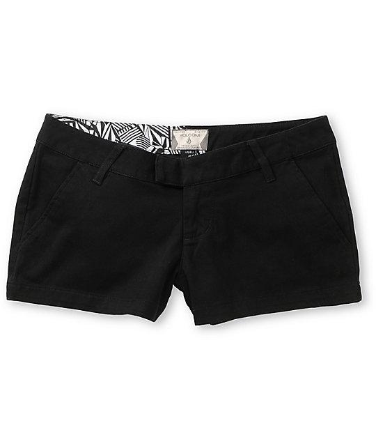 Volcom Frochickie Black Shorts