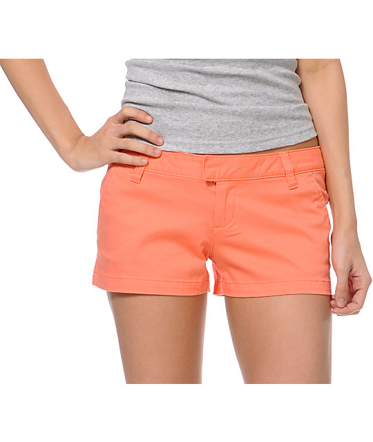 Volcom Frochickie Coral Shorts