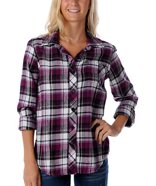 Volcom From the Boys Flannel Shirt